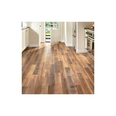 Architectural Remnants 5 x 48 x 12mm Oak Laminate Flooring in Worldy Hue