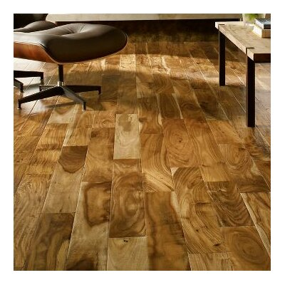 Rustic Accents 4-18/25 Engineered Exotic Hardwood Flooring in Natural