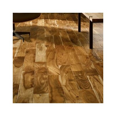 Rustic Accents 4-18/25 Engineered Exotic Hardwood Flooring in Old World
