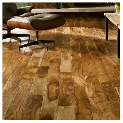 Rustic Accents 4-18/25 Engineered Exotic Hardwood Flooring in Woodland Twig