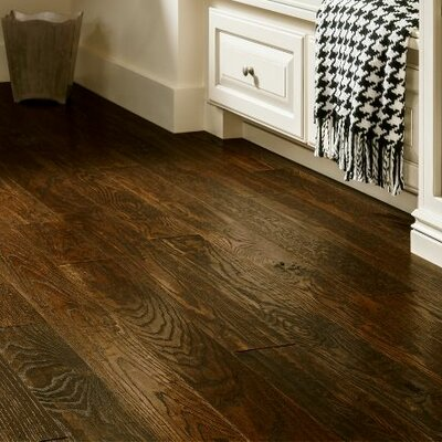 5 Solid Oak Hardwood Flooring in Brown Bear