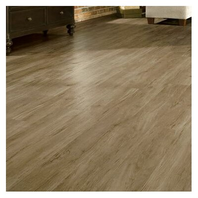 Luxe Timber Bay Hickory 6 x 48 x 4.06mm Luxury Vinyl Plank in Provincial Brown