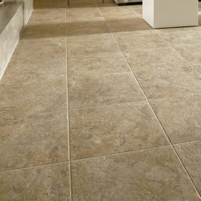 Alterna 16 x 16 Engineered Stone Field Tile in Cameo Brown