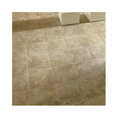 Alterna Tuscan Path 16 x 16 Engineered Stone Tile in Beige Blush