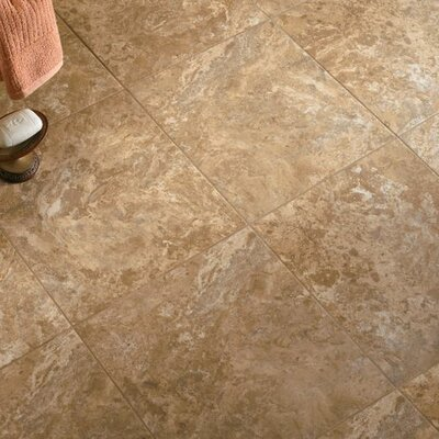 Alterna 16 x 16 Engineered Stone Field Tile in Beige/Taupe