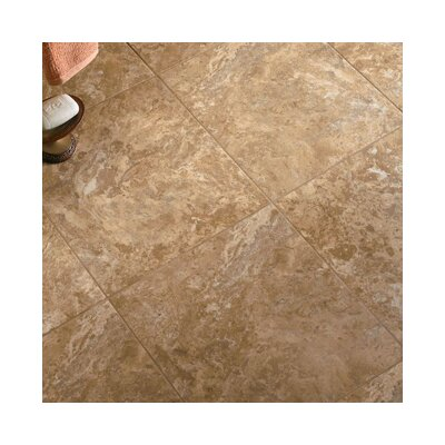 Alterna 16 x 16 Engineered Stone Field Tile in Terra/Clay