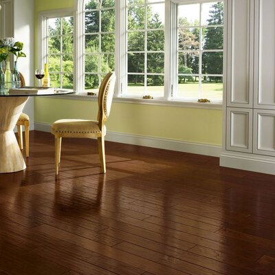 American 5 Engineered Hickory Hardwood Flooring in Grand Canyon Sunset