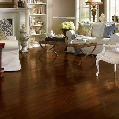 Highgrove Manor 4 Solid Hickory Hardwood Flooring in Antler Brown