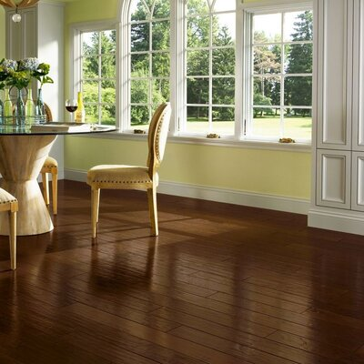 American 5 Engineered Hickory Hardwood Flooring in Hitching Post