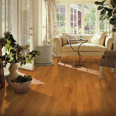 Yorkshire 3-1/4 Solid Red Oak Hardwood Flooring in Pioneer Natural