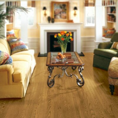 Somerset 2-1/4 Solid White Oak Hardwood Flooring in Maize