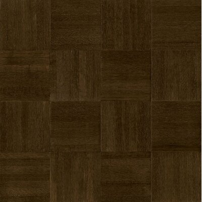 Millwork 12 Solid Oak Hardwood Flooring in Blackened Brown