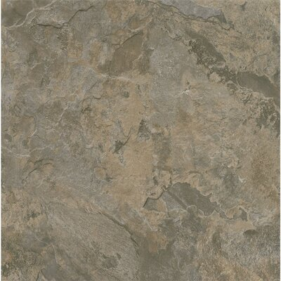 Alterna Mesa Stone 16 x 16 x 4.064mm Luxury Vinyl Tile in Gray/Brown