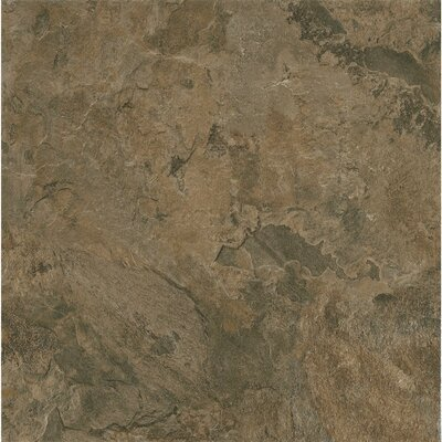 Alterna Mesa Stone 12 x 12 x 4.064mm Luxury Vinyl Tile in Chocolate