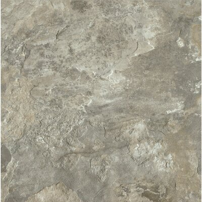 Alterna Mesa Stone 8 x 8 x 4.064mm Luxury Vinyl Tile in Light Gray