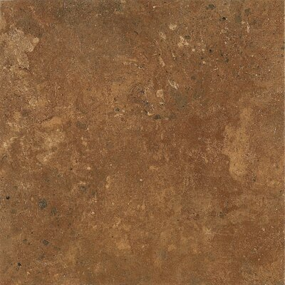 Alterna Aztec Trail 16 x 16 x 4.064mm Luxury Vinyl Tile in Terracotta