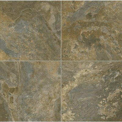 Alterna AlleghSlat 16 x 16 x 4.064mm Luxury Vinyl Tile in Ital Earth