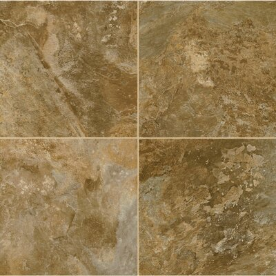 Alterna Reserve Allegheny Slate 8 x 8 x 4.064mm Luxury Vinyl Tile in Bronze Age