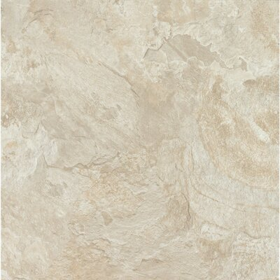 Alterna Mesa Stone 16 x 16 x 4.064mm Luxury Vinyl Tile in Chalk