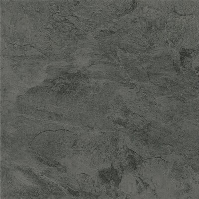 Alterna Mesa Stone 16 x 16 x 4.064mm Luxury Vinyl Tile in Charcoal