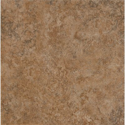Alterna Multistone 16 x 16 x 4.064mm Luxury Vinyl Tile in Terracotta
