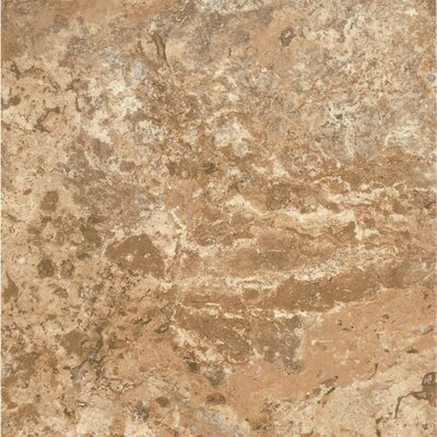 Alterna ClassicNorthTerrace 16 x 16 x 4.064mm Luxury Vinyl Tile in Terracotta/Clay