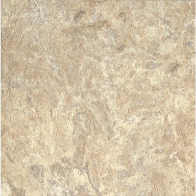 Alterna ClassicNorthTerrace 16 x 16 x 4.064mm Luxury Vinyl Tile in Beige/Taupe