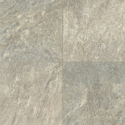 Alterna Reserve Cuarzo 16 x 16 x 4.064mm Luxury Vinyl Tile in Pearl Gray