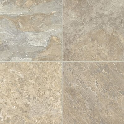 Alterna ReserveMoseValley 16 x 16 x 4.064mm Luxury Vinyl Tile in Honey