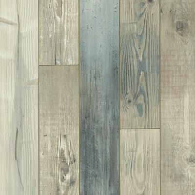 Architectural Remnant Seaside Pine 4.92 x 47.84 x 12mm Luxury Vinyl Laminate Flooring in Salt Air