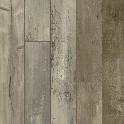 Architectural Remnant Seaside Pine 4.92 x 47.84 x 12mm Luxury Vinyl Laminate Flooring in Dockside