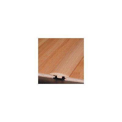 0.25 x 2 x 78 Red Oak T-Molding in Mocha