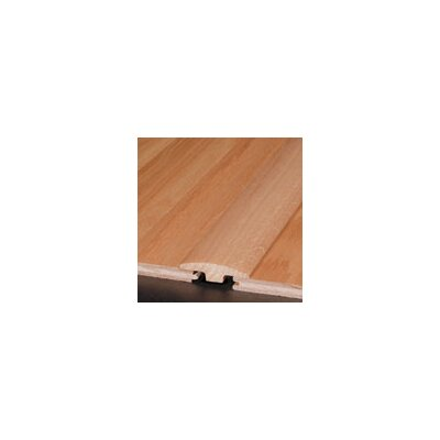 0.25 x 2 x 78 Hickory T-Molding in Saddle