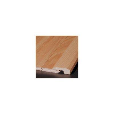 0.63 x 2 x 78 Red Oak Threshold in Black Olive