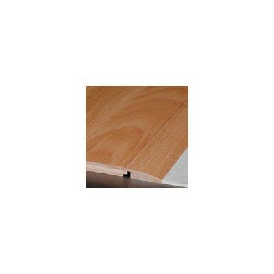 0.38 x 1.5 x 78 Red Oak Overlap Reducer in Gunstock