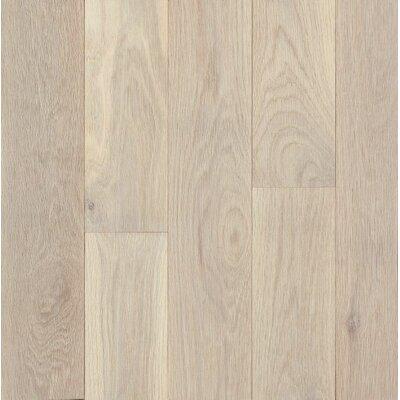 Turlington Signature Series 3 Engineered Northern White Oak Hardwood Flooring in Antiqued White