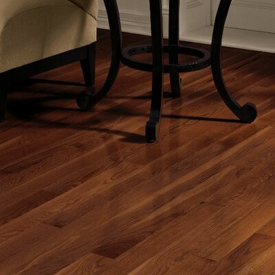 Dundee 3-1/4 Solid Red / White Oak Hardwood Flooring in Cherry