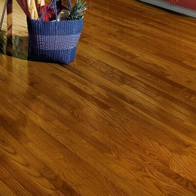 Dundee 2-1/4 Solid Red / White Oak Hardwood Flooring in Gunstock