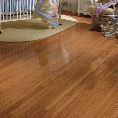 Dundee 2-1/4 Solid Red Oak Hardwood Flooring in Butterscotch