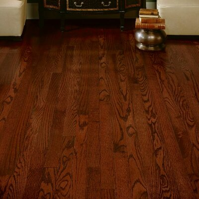 Dundee 2-1/4 Solid Red / White Oak Hardwood Flooring in Cherry