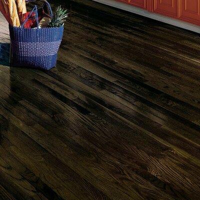 Dundee 2-1/4 Solid Red Oak Hardwood Flooring in Espresso