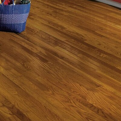 Dundee 2-1/4 Solid White Oak Hardwood Flooring in Fawn
