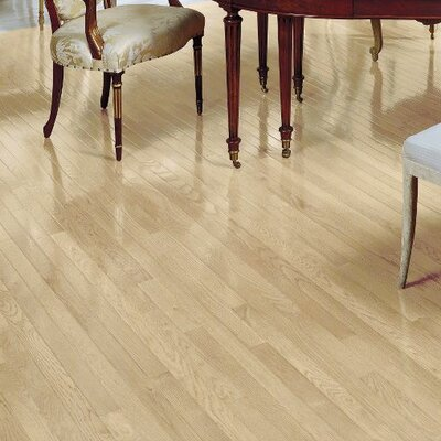 Fulton 2-1/4 Solid White Oak Hardwood Flooring in Winter White