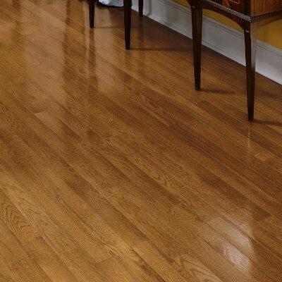 Fulton 3-1/4 Solid Red / White Oak Hardwood Flooring in Gunstock