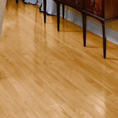 Fulton 3-1/4 Solid Red Oak Hardwood Flooring in Natural