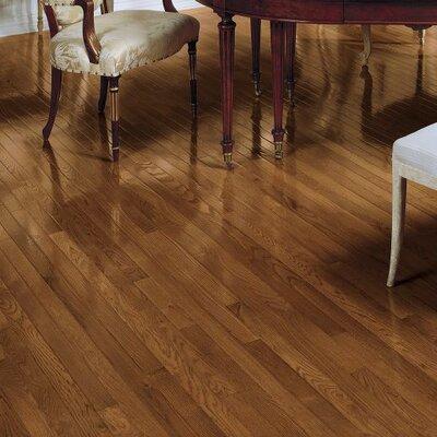 Fulton 2-1/4 Solid Red / White Oak Hardwood Flooring in Gunstock
