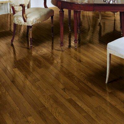 Fulton 2-1/4 Solid Red / White Oak Hardwood Flooring in Saddle