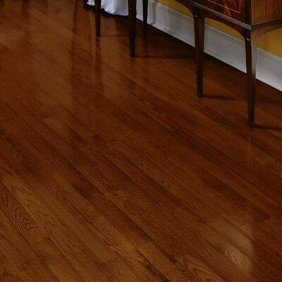Fulton 3-1/4 Solid Red / White Oak Hardwood Flooring in Cherry
