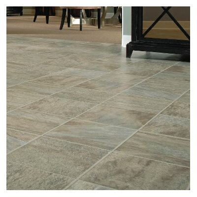 GardenStone 12 x 48 x  8mm Tile Laminate in Silver Sage