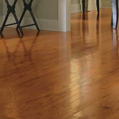Turlington 3 Engineered Oak Hardwood Flooring in Butterscotch